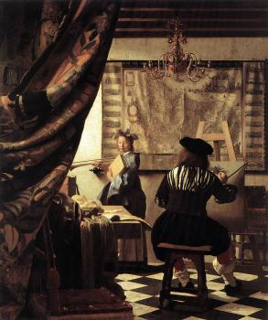 Johannes Vermeer : The Allegory of Painting